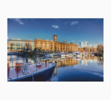 St Katherines Dock London Baby Tee