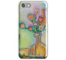 Birds and Flower Vase  iPhone Case/Skin