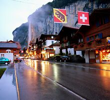 A Sleepy Lauterbrunnen by Dean Symons