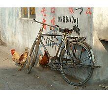 Village Life Photographic Print