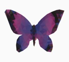 Polygonal Butterfly Kids Clothes