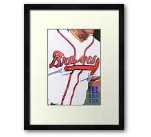 Atlanta Braves 2 Framed Print