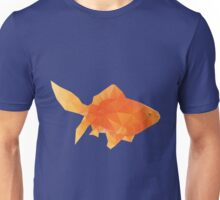 Polygonal Gold Fish Unisex T-Shirt