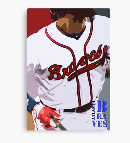 Atlanta Braves 3 Canvas Print