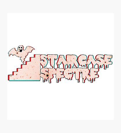 Staircase Spectre Logo Photographic Print