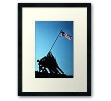 Iwo Jima 4 Framed Print