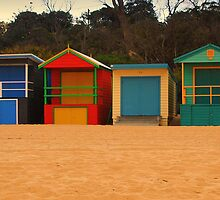 Beach Box Pano by KeepsakesPhotography Michael Rowley