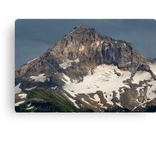Mount Hood Peak. Canvas Print