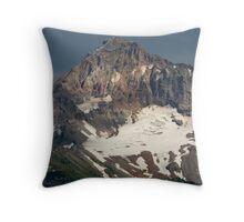 Mount Hood Peak. Throw Pillow