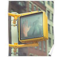 Traffic Light, New York City Poster