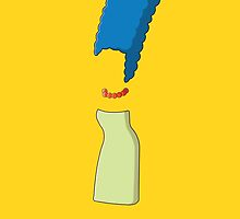 """Marge Simpson, """"Whatcha Wearing"""" by SpectreSpark"""