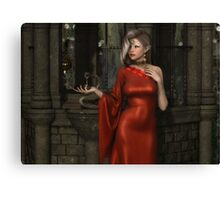 Mistres of Potions - Red Canvas Print