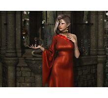 Mistres of Potions - Red Photographic Print
