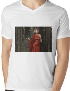 Mistres of Potions - Red Mens V-Neck T-Shirt