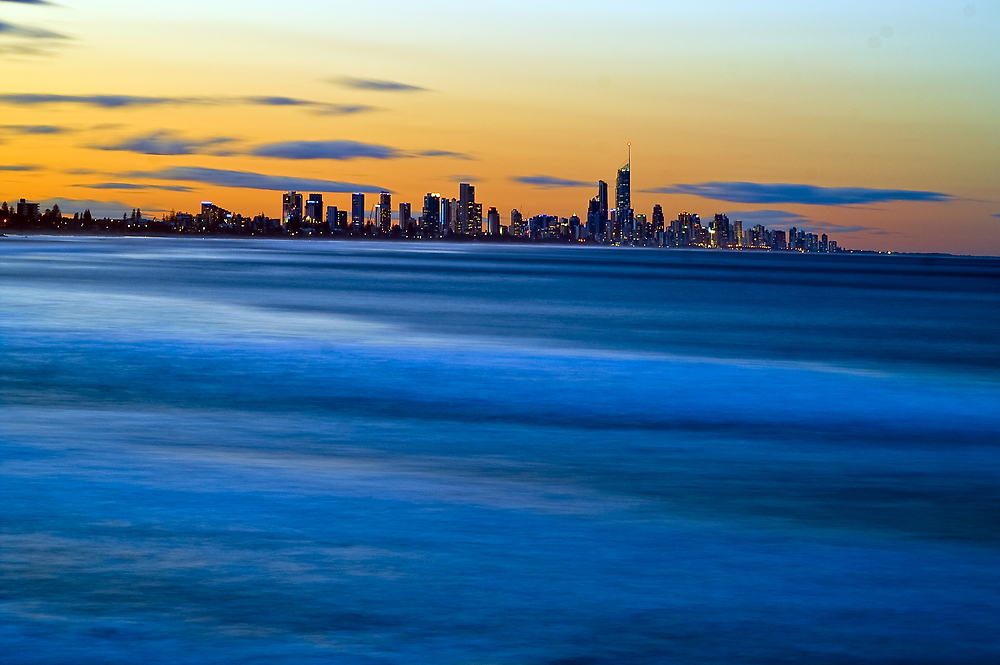 Gold Coast - Early Evening by Paul Swan