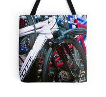 Bicycle shapes Tote Bag