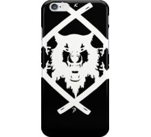 H. Squad White iPhone Case/Skin