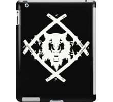 H. Squad White iPad Case/Skin
