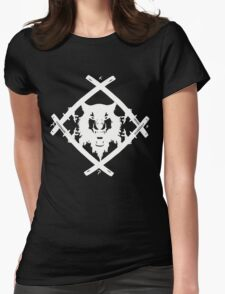H. Squad White Womens Fitted T-Shirt