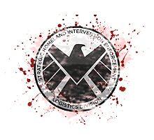 S.H.I.E.L.D Emblem (red) by nikkiandkatie