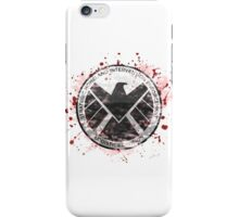 S.H.I.E.L.D Emblem (red) iPhone Case/Skin