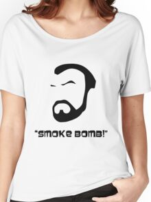Smoke Bomb  Women's Relaxed Fit T-Shirt