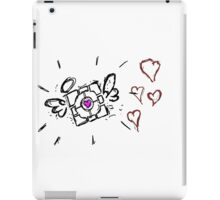 Portal Companion Cube iPad Case/Skin