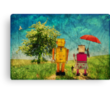 On our way Canvas Print