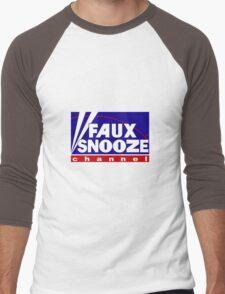 FAUX NEWS by Tai's Tees Men's Baseball ¾ T-Shirt