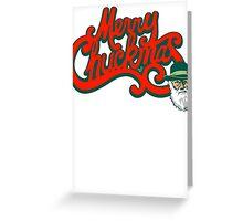 Merry Chuckmas by Tai's Tees Greeting Card