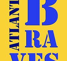 Atlanta Braves 5 by drawspots