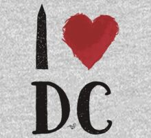 I Heart DC (remix) by Tai's Tees Kids Clothes