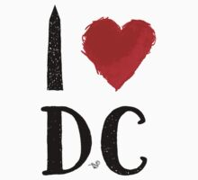 I Heart DC (remix) by Tai's Tees by TAIs TEEs