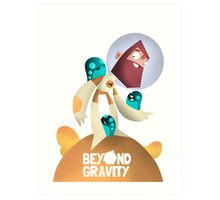 Jeff - Beyond Gravity Art Print