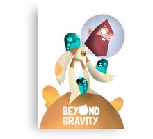Jeff - Beyond Gravity Canvas Print