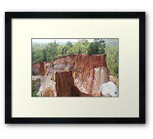 Ga's Little Grand Canyon Framed Print