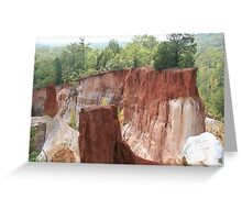 Ga's Little Grand Canyon Greeting Card
