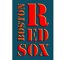 Boston Red Sox 1 Photographic Print