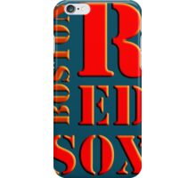Boston Red Sox 1 iPhone Case/Skin