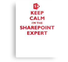 Keep Calm I'm the SharePoint Expert Metal Print