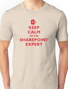 Keep Calm I'm the SharePoint Expert Unisex T-Shirt