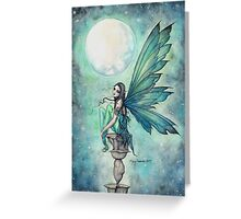 Winter Dream Fairy Illustration Molly Harrison Fantasy Art Greeting Card