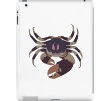mud crab iPad Case/Skin