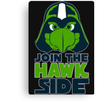 Join the Hawk Side - Tshirts & Hoodies Canvas Print