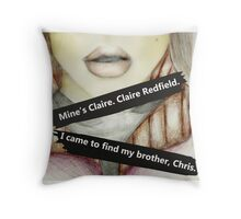 Claire Redfield Throw Pillow