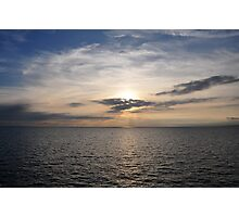 Sky and sea Photographic Print