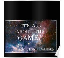 Calhoun's Best Words Poster