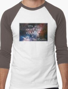 Calhoun's Best Words Men's Baseball ¾ T-Shirt