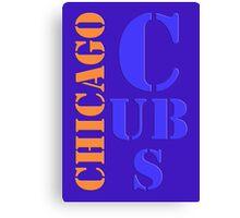 Chicago Cubs 1 Canvas Print
