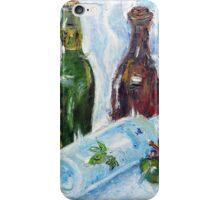 Line of Bottles_Lingo Lingo Şişeler iPhone Case/Skin